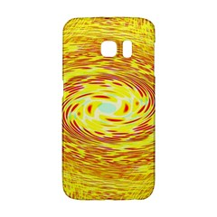 Yellow Seamless Psychedelic Pattern Galaxy S6 Edge