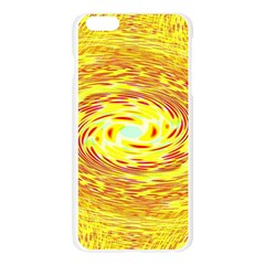 Yellow Seamless Psychedelic Pattern Apple Seamless iPhone 6 Plus/6S Plus Case (Transparent)