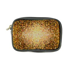 Yellow And Black Stained Glass Effect Coin Purse