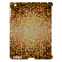 Yellow And Black Stained Glass Effect Apple Ipad 3/4 Hardshell Case (compatible With Smart Cover)