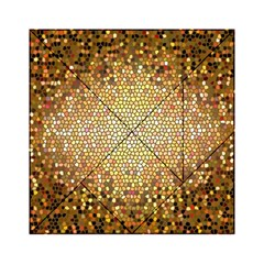 Yellow And Black Stained Glass Effect Acrylic Tangram Puzzle (6  X 6 )