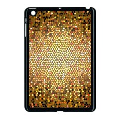 Yellow And Black Stained Glass Effect Apple Ipad Mini Case (black)