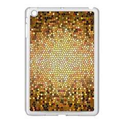 Yellow And Black Stained Glass Effect Apple Ipad Mini Case (white)
