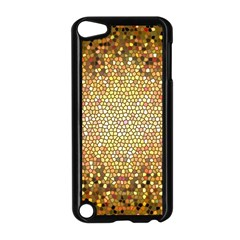Yellow And Black Stained Glass Effect Apple Ipod Touch 5 Case (black)