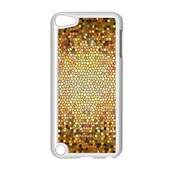 Yellow And Black Stained Glass Effect Apple Ipod Touch 5 Case (white)