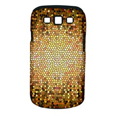 Yellow And Black Stained Glass Effect Samsung Galaxy S Iii Classic Hardshell Case (pc+silicone)