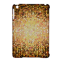 Yellow And Black Stained Glass Effect Apple Ipad Mini Hardshell Case (compatible With Smart Cover)