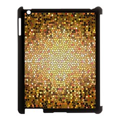 Yellow And Black Stained Glass Effect Apple Ipad 3/4 Case (black)