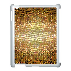 Yellow And Black Stained Glass Effect Apple Ipad 3/4 Case (white)