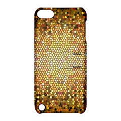 Yellow And Black Stained Glass Effect Apple Ipod Touch 5 Hardshell Case With Stand