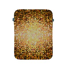 Yellow And Black Stained Glass Effect Apple Ipad 2/3/4 Protective Soft Cases