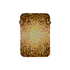 Yellow And Black Stained Glass Effect Apple Ipad Mini Protective Soft Cases