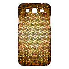 Yellow And Black Stained Glass Effect Samsung Galaxy Mega 5 8 I9152 Hardshell Case