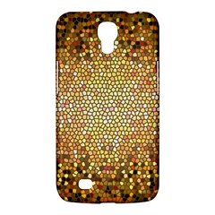Yellow And Black Stained Glass Effect Samsung Galaxy Mega 6 3  I9200 Hardshell Case