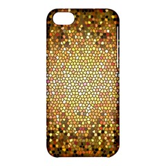 Yellow And Black Stained Glass Effect Apple Iphone 5c Hardshell Case