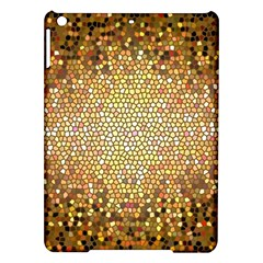 Yellow And Black Stained Glass Effect Ipad Air Hardshell Cases
