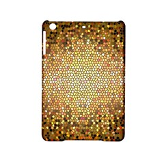 Yellow And Black Stained Glass Effect Ipad Mini 2 Hardshell Cases