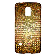 Yellow And Black Stained Glass Effect Galaxy S5 Mini