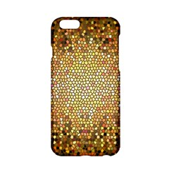 Yellow And Black Stained Glass Effect Apple Iphone 6/6s Hardshell Case