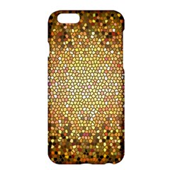 Yellow And Black Stained Glass Effect Apple Iphone 6 Plus/6s Plus Hardshell Case
