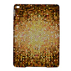 Yellow And Black Stained Glass Effect Ipad Air 2 Hardshell Cases