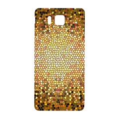 Yellow And Black Stained Glass Effect Samsung Galaxy Alpha Hardshell Back Case