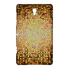 Yellow And Black Stained Glass Effect Samsung Galaxy Tab S (8 4 ) Hardshell Case