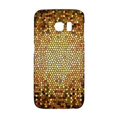 Yellow And Black Stained Glass Effect Galaxy S6 Edge