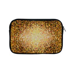Yellow And Black Stained Glass Effect Apple Macbook Pro 13  Zipper Case