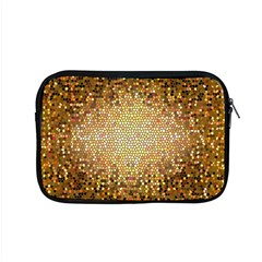 Yellow And Black Stained Glass Effect Apple Macbook Pro 15  Zipper Case