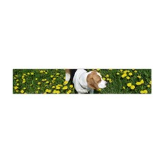 Beagle In Dandilions Flano Scarf (Mini)