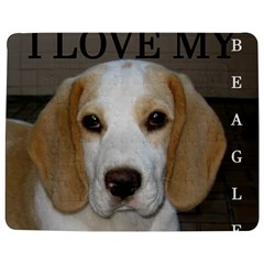 Beagle  Tan And White Love Pic Jigsaw Puzzle Photo Stand (Rectangular)