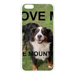 Bernese Mountain Dog Love W Pic Apple Seamless iPhone 6 Plus/6S Plus Case (Transparent)