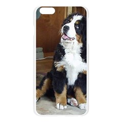 Bernese Mountain Dog Puppy Apple Seamless iPhone 6 Plus/6S Plus Case (Transparent)