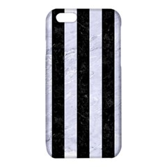STR1 BK-WH MARBLE iPhone 6/6S TPU Case