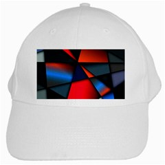 3d And Abstract White Cap