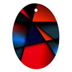 3d And Abstract Ornament (Oval)