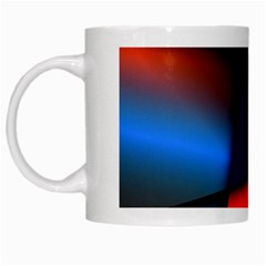 3d And Abstract White Mugs