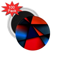 3d And Abstract 2.25  Magnets (100 pack)