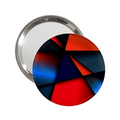 3d And Abstract 2.25  Handbag Mirrors