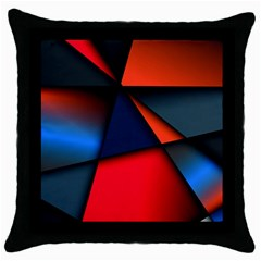 3d And Abstract Throw Pillow Case (Black)