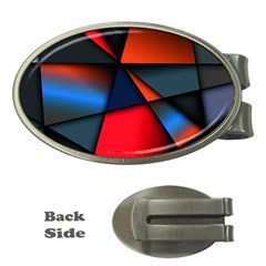 3d And Abstract Money Clips (Oval)