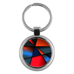 3d And Abstract Key Chains (Round)