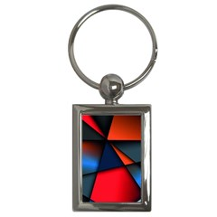 3d And Abstract Key Chains (Rectangle)