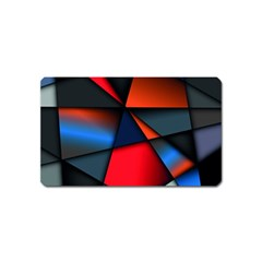 3d And Abstract Magnet (name Card)