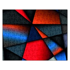 3d And Abstract Rectangular Jigsaw Puzzl