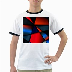 3d And Abstract Ringer T-Shirts