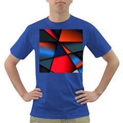 3d And Abstract Dark T-Shirt