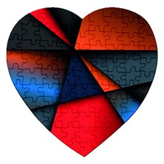 3d And Abstract Jigsaw Puzzle (Heart)