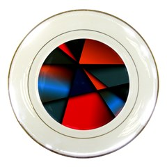 3d And Abstract Porcelain Plates